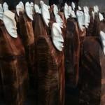 Die Wehmutfiguren tragen individuelle Züge.