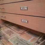 Diese Schubladen wollen entdeckt und geöffnet werden.