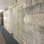Bunker- und Galerieelemente bilden eine interessante Mischung.