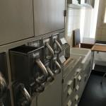 Die Frankfurter Küche sollte durch ihren Aufbau eine möglichst effiziente Benutzung ermöglichen.