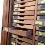 Im kleinen Seitenraum gibt es Dokumente zur Entwicklung des Werkbundes.